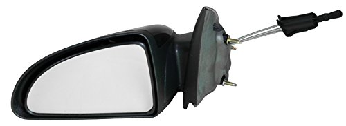 Manual Remote Side View Mirror Driver Left LH for Chevy Cobalt G5 4 Door Sedan (Mirror 4 Door Sedan Drivers)