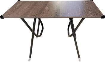 SUGANDHA Folding Big Size Engineer Wood Foldable Study Desk (Beige and Brown)