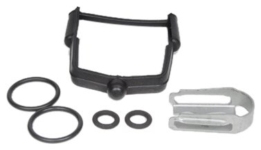 Seals and O-Rings rm-ACM-217-3030 ACDelco 217-3030 GM Original Equipment Fuel Injector Fuel Feed and Return Pipe O-Ring Kit with Clip