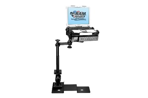09A-SW1) No-Drill Laptop Mount for the Ford F-150 and Lincoln Mark LT (Ram Laptop Vehicle Mount)