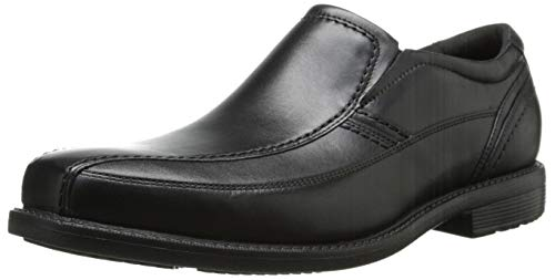 Rockport Men's Style Leader 2 Bike Slip-On Black 12 W (EE) Style Leader 2 Bike Slip On