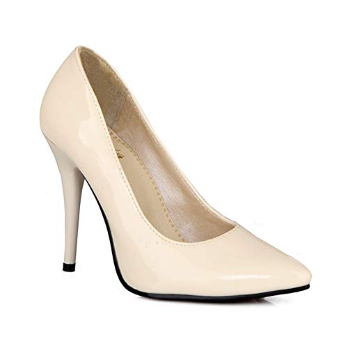 HOESCZS große größe 30-48 high Heels Spitze zehe Elegante Frauen Schuhe 7 Farben dünne hochhackige Party büro pumpen Schuh Stiletto, B07P9P1GXL Sport- & Outdoorschuhe Ideales Geschenk für alle Gelegenheiten