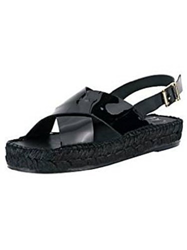 High-heeled sandals Women from Patent leather from Best Connections Black bCJGQU