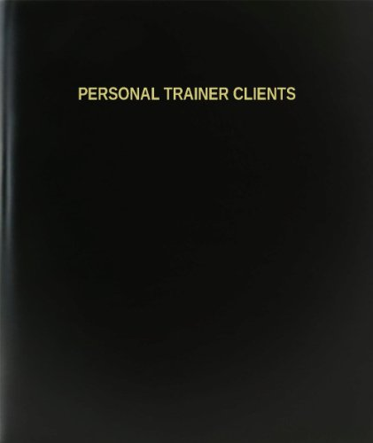 BookFactory Personal Trainer Clients Log Book/Journal/Logbook - 120 Page, 8.5