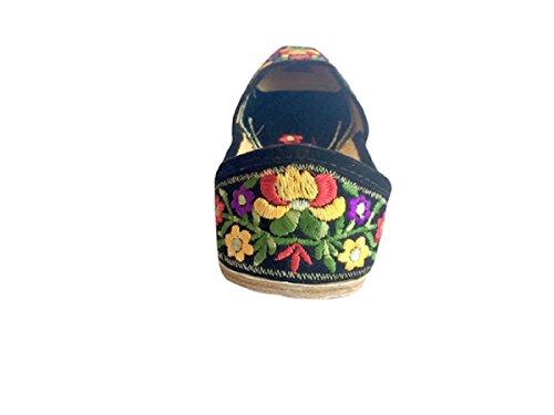 jutti N Damen Mehrfarbig Schritt Leder Style Schuhe pIwdxBqTP