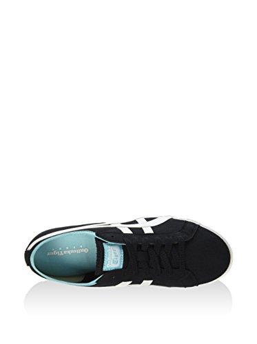Unisex Sneaker Weiß Schwarz Asics D317N Erwachsene P5wqqC