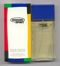 ce661dde9b Missoni Sport by Missoni for Men. 1.6 Oz Eau De Toilette Spray