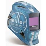 Best Miller welding helmet - Welding Helmet, Vintage Roadster, Blue Review