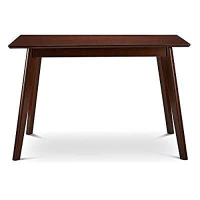 Civet Home Modern Dining Table, Espresso - Long lasting with a touch of sophistication This is a worthwhile option for your needs Espresso color - kitchen-dining-room-furniture, kitchen-dining-room, kitchen-dining-room-tables - 31ctbe23JxL. SS400  -