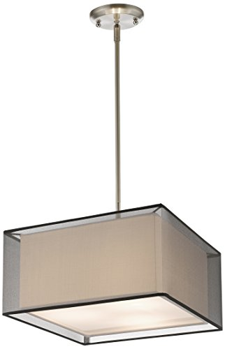 Z-Lite 193-15BK-C 3 Light Convertible Pendant 3 (Outdoor Pendant Sedona)