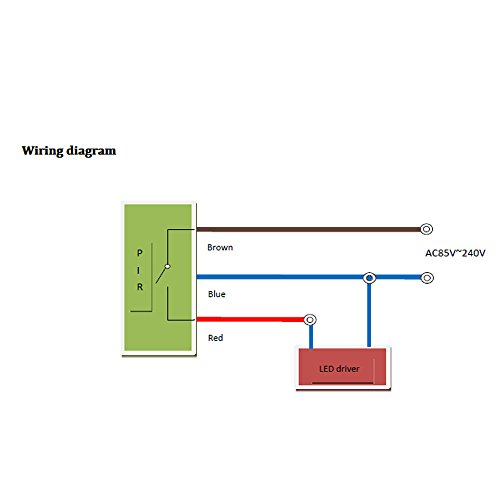 31ctd%2Bpno0L.01_SL500_ 85~265v led pir motion sensor infrared detector ir pyroelectric Motion Sensor Wiring Diagram 3-Way at soozxer.org