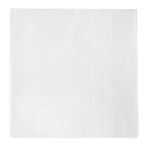 Fazzoletti Uomo Confezione Cotone Pezzi Regalo Retreez 8 Bianco Assortiti Puro Per pSUqMGzV