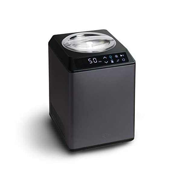 Gelatiera e Yogurtiera ERIKA 2 in 1 con Compressore Autorefrigerante, 250W, 2,5L, Macchina per Gelato & Yogurt… 3 spesavip