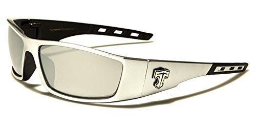 Tundra unisex Rectángulo Gafas Sol Envolventes lente de ...