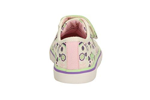 Clarks filles Seasonal Brill Poupée Inf Textile Chaussures d'été en coton