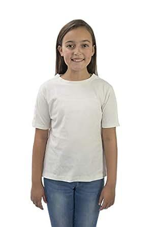 MAI Post Shoulder Surgery Shirts   Chemo Clothing   Kids Short Sleeve Shirt - White - X-Small