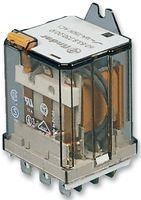 FINDER 62.83.8.230.0000 Relay, Power, 3PDT-CO, 250VAC, 30A, Flange