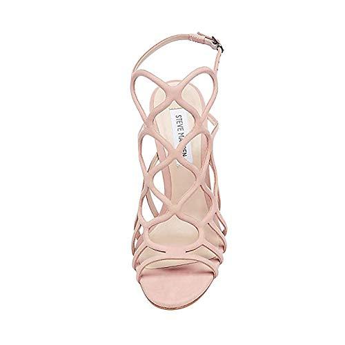 Madden Steve Teagen Blush Caged M 5 Us Nubuck Women's Sandal 9 dXxX6rqw