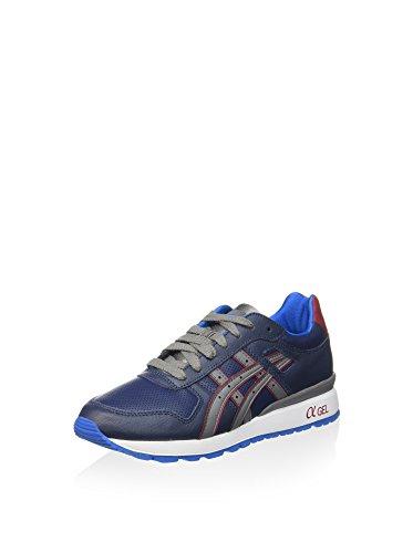 Asics Gt-Ii, Zapatillas de Running Unisex Adulto Azul Marino / Gris