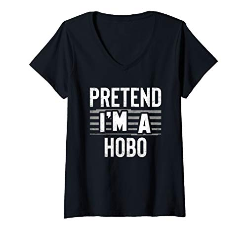 Womens Pretend I'm A Hobo Funny Party Gift
