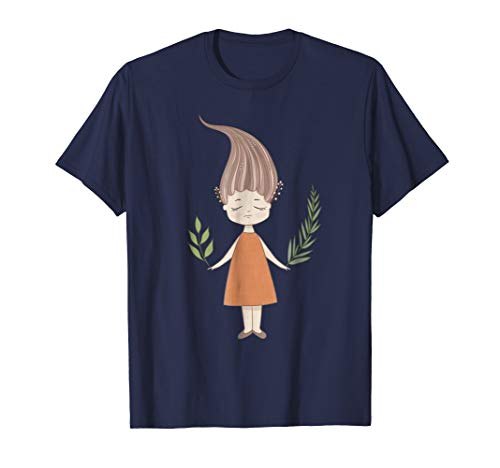 Cute Vintage Art T-Shirt & Gift | Woodland Fairy & Nature