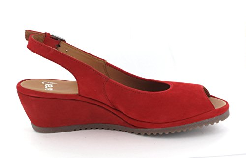 Ara Kvinnor Colleen Sandal 14 Röd Nubuck