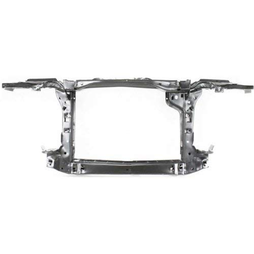 Garage-Pro Radiator Support for BMW 3-SERIES 88-91 Assembly Black Steel - Bmw 1991 Radiator 325i