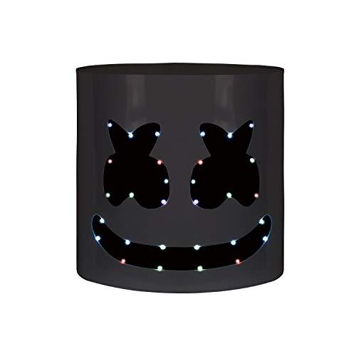 [해외]수공예 탑 10 Dj 마 시 멜로 헬멧 음악 축제 마쉬 멜 로우 헤드 마스크 참신 의상 파티 소품 하드 아크릴 / Handcraft Top 10 DJs Marshmello Helmet Music Festival Marshmallow Head Mask Novelty Costume Party Props Hard Acrylic