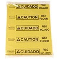 Rubbermaid Commercial Products 4252YEL Over-the-Spill Pad - Caution Wet Floor, Yellow