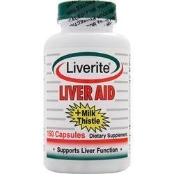 Liverite foie aide plus Milk Thistle - 150 Capsules