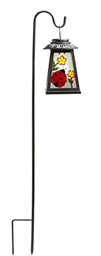 Cheap Sunrays Mosaic Solar Lantern- Lady Bug 36 inch High