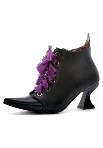 (Womens Lace Up Witch Shoes Size)