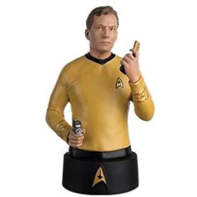 Eaglemoss Star Trek Bust Collection #1: Captain Kirk Bust: Toys & Games [5Bkhe1102424]
