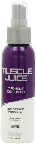 Concours Muscle Juice Posing huile, Définition maximum, 4 fl oz (118,5 ml)