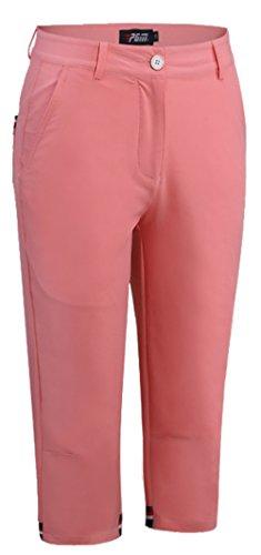 (ケイミ)KEIMI レディース ゴルフウェア 7分丈パンツ ストレッチ スポーツパンツ ハーフ パンツ通気 吸湿 速乾