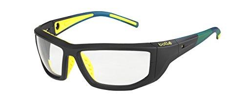 Bolle Playoff Anti Fog Sunglasses, Black/Yellow ()