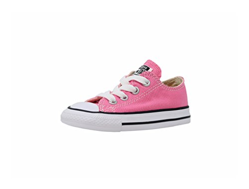 (Converse Kids' Chuck Taylor All Star Canvas Low Top Sneaker pink 6 M US)