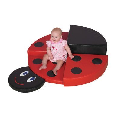 Children's Factory Ladybug Climber Classroom Furniture (CF322-374)
