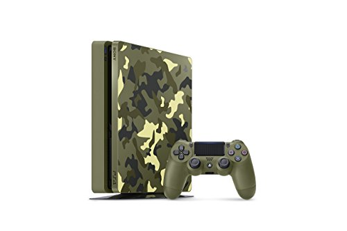 PlayStation 4 Slim 1TB Limited Edition Console – Call of Duty WWII Bundle [Discontinued] (Certified Refurbished)