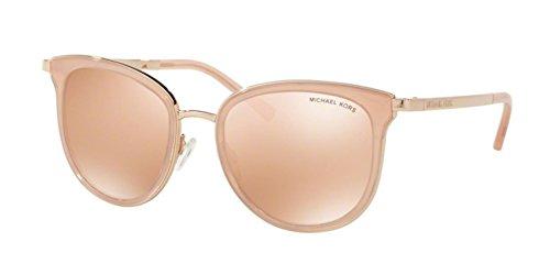 Michael Kors MK1010 1103R1 Pink / Rose Gold Adrianna I Round Sunglasses Lens - Gold Kors Michael Rose Sunglasses