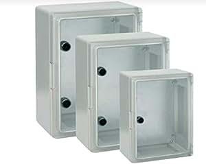 PVC eLeCTRICAL eNCLOSURe WITH TRANSPAReNT DOOR 350 H X 250W X 150 D IP 65