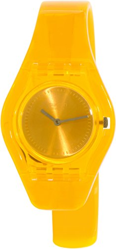 Swatch Women's Originals LO101HA Orange Plastic Swiss Quartz Watch