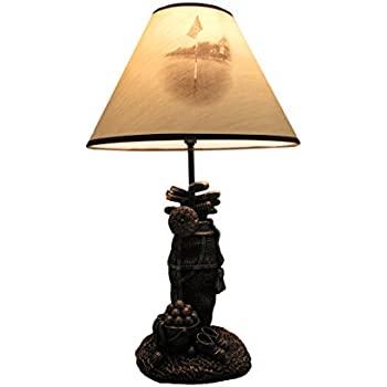Resin table lamps golf lovers tee light golf bag table lamp w resin table lamps golf lovers tee light golf bag table lamp wdecorative shade 8 aloadofball Choice Image