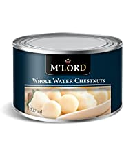 M'Lord Whole Water Chestnuts, Asian Cuisine, Flavourful & Versatile, Premium Quality, 227ml