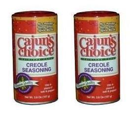 Cajuns Choice Creole Seasoning 3.8 oz (2 Pack)