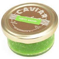 Wasabi Sushi Caviar Frozen 2.00 oz. / 56 gr.