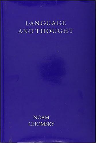 Amazon com: Language & Thought (Anshen Transdisciplinary