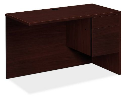 HON 10515RNN 10500 Series 48 by 24 by 29-1/2-Inch L Workstation Return, Right, Mahogany
