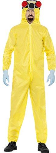Breaking Bad Costume Uk (Breaking Bad Costume, Hazmat Suit Chest 38