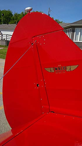 Home Comforts Canvas Print Biplane Waco Aircraft Rudder, used for sale  Delivered anywhere in USA